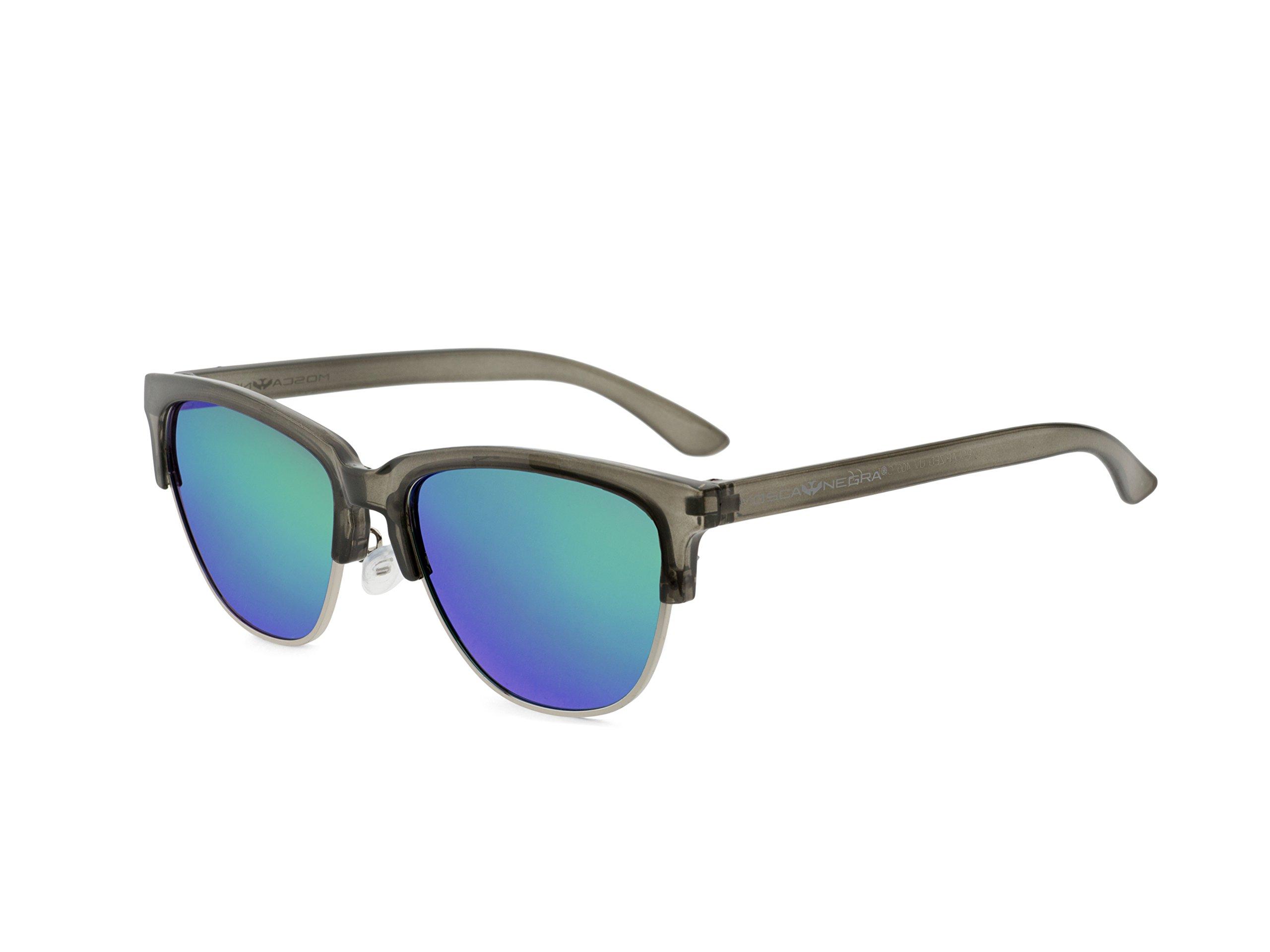 Gafas de sol MOSCA NEGRA modelo ALPHA METAL Green - Polarizadas: Amazon.es: Libros