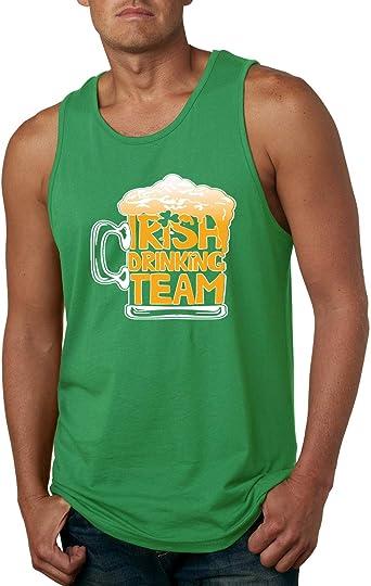 Wild Bobby Irish Drinking Team Beer Mug Patricks Day Graphic Tank Top Mens St