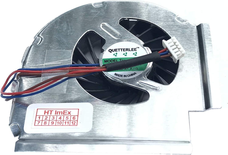T400 - L/üfter//K/ühler Fan kompatibel mit Lenovo Thinkpad T400 6475 T400 5pins // 3 Kabel - Version NRA6 2768 T400 T400 2765 7420 W500 NM32