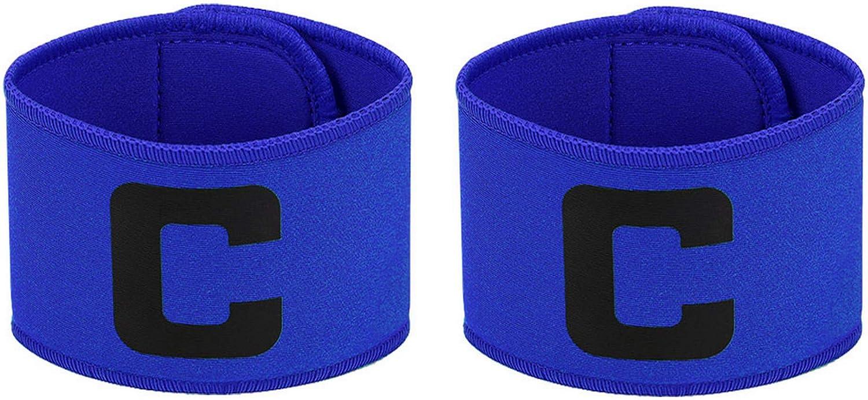 Captain Armband Colorful Football Soccer Flexible Adjustable Player Arm SE
