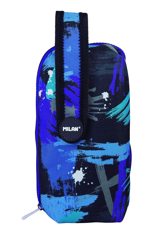 MILAN 2019 Estuches, 23 cm, Azul