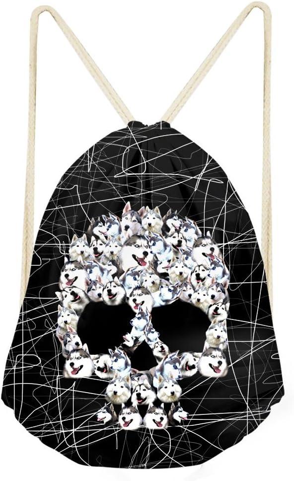 Acheter sac cordon de serrage tete de mort online 1