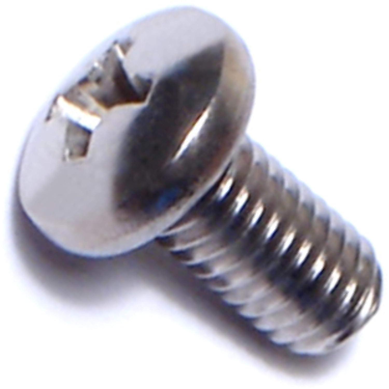 10-32 x 3//8 Piece-20 Midwest Fastener Corp Hard-to-Find Fastener 014973449100 Phillips Pan Machine Screws