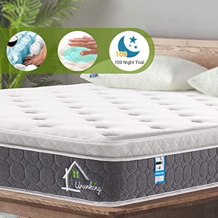 info for 9712e a5c0d Ej. Life 2FT6 Small Single Pocket Sprung Mattress with Memory Foam and 3D  Breathable Fabric 9-Zone Support System - 100 Nights Trial
