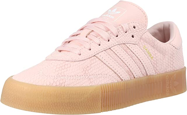 Amazon.com: adidas Originals Sambarose Icey US9 - Zapatillas ...