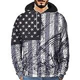 6d9345338cc58 Sweat-Shirt à Capuche - Homme Vtops Hommes 3D Imprimé Graffiti Pull à  Manches Longues