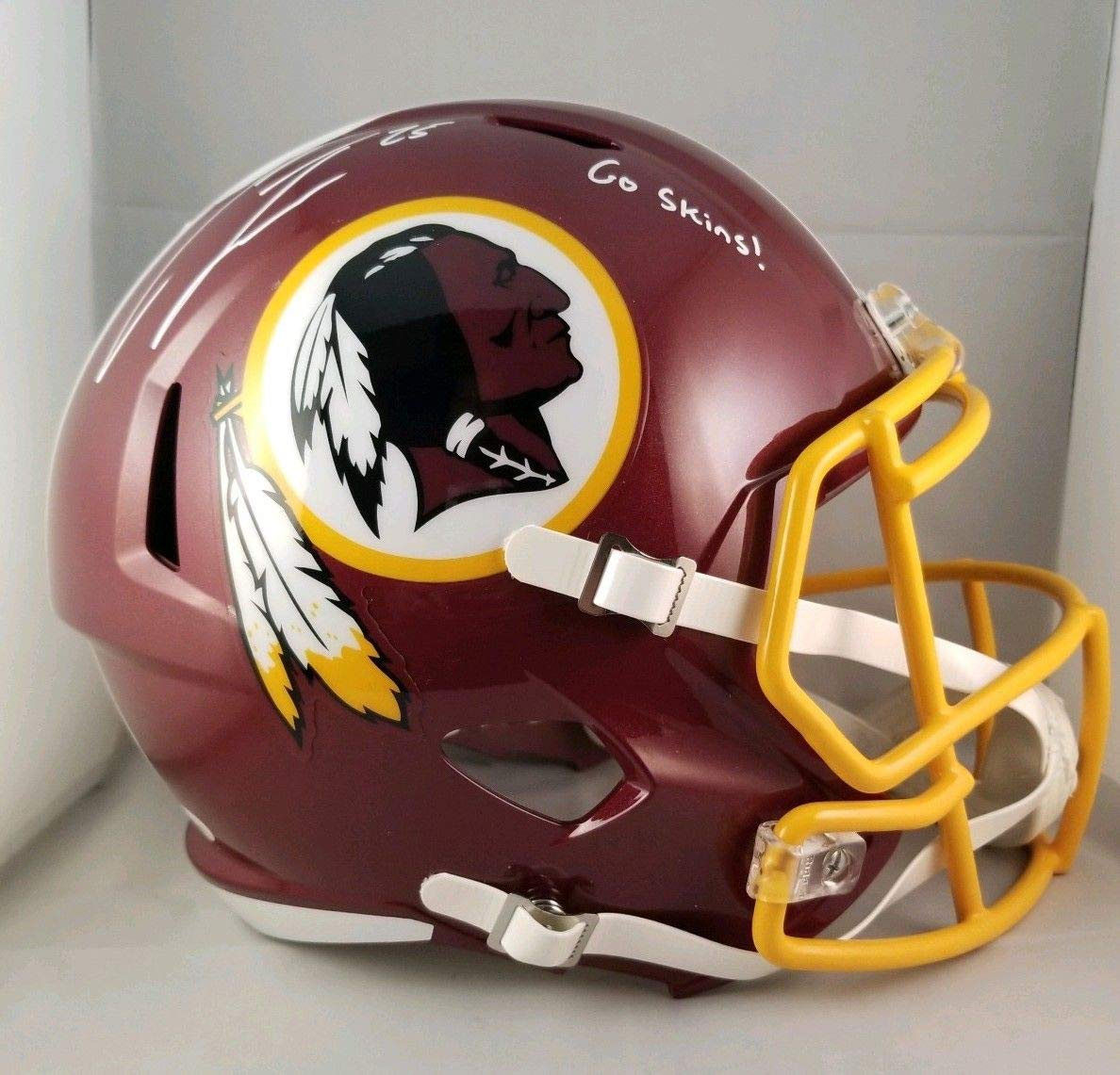 Amazon.com  Chris Thompson Autographed Signed Full Size Helmet Washington  Redskins JSA  Sports Collectibles 9fb8075d4