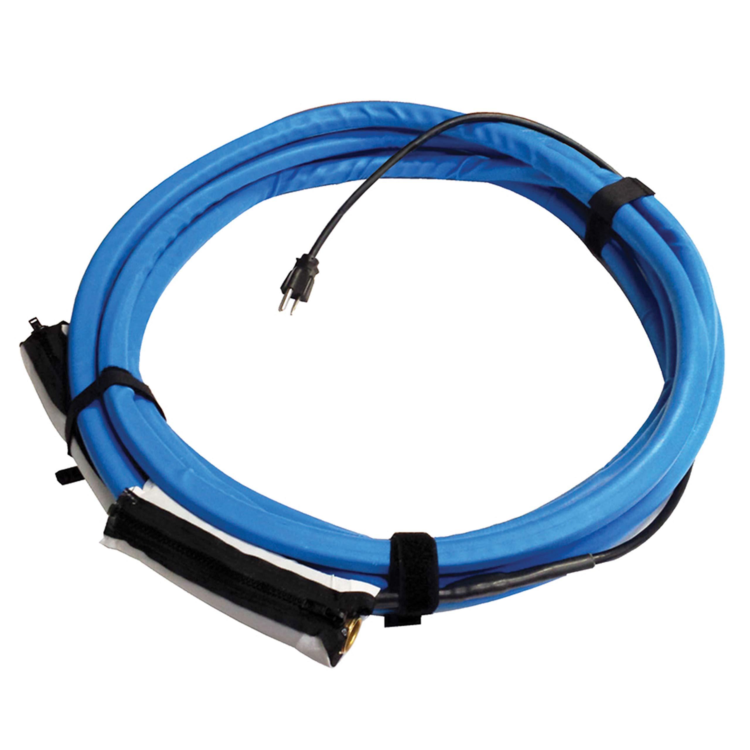 Valterra W01-5325 Heated Fresh Water Hose - 25', Blue by Valterra