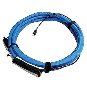 Valterra W01-5315 Heated Fresh Water Hose - 15', Blue