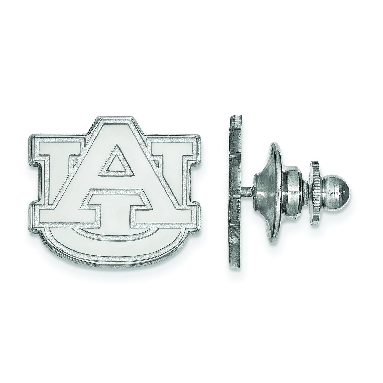 LogoArt Auburn University Lapel Pin (Sterling Silver)