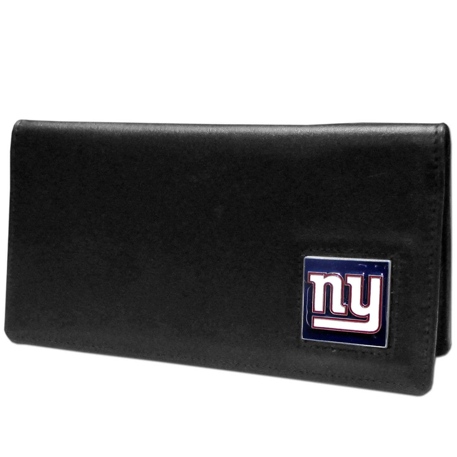 NFL New York Giants Leather Checkbook Cover