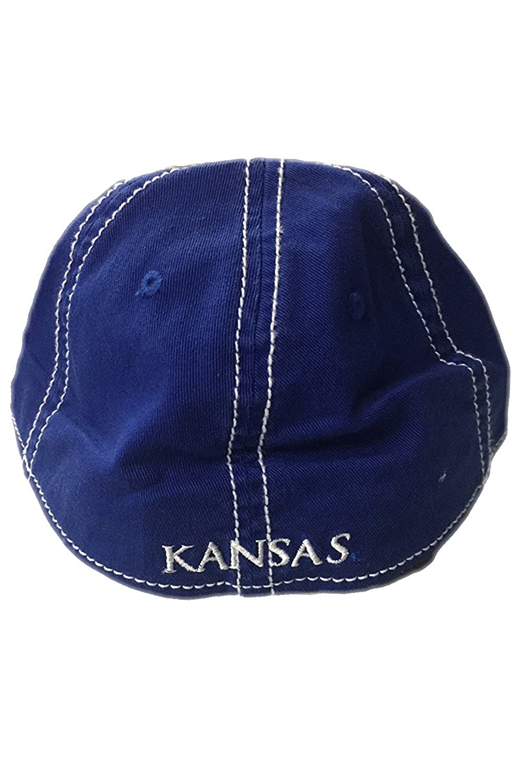 University of Kansas Jayhawks Blue adidas Slope Flex Hat - L XL at Amazon  Men s Clothing store  8945df4a0185