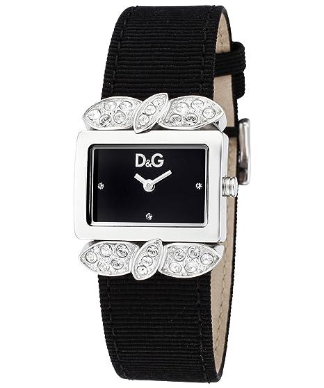 Dolce & Gabbana - Reloj de mujer, correa de piel - color negro