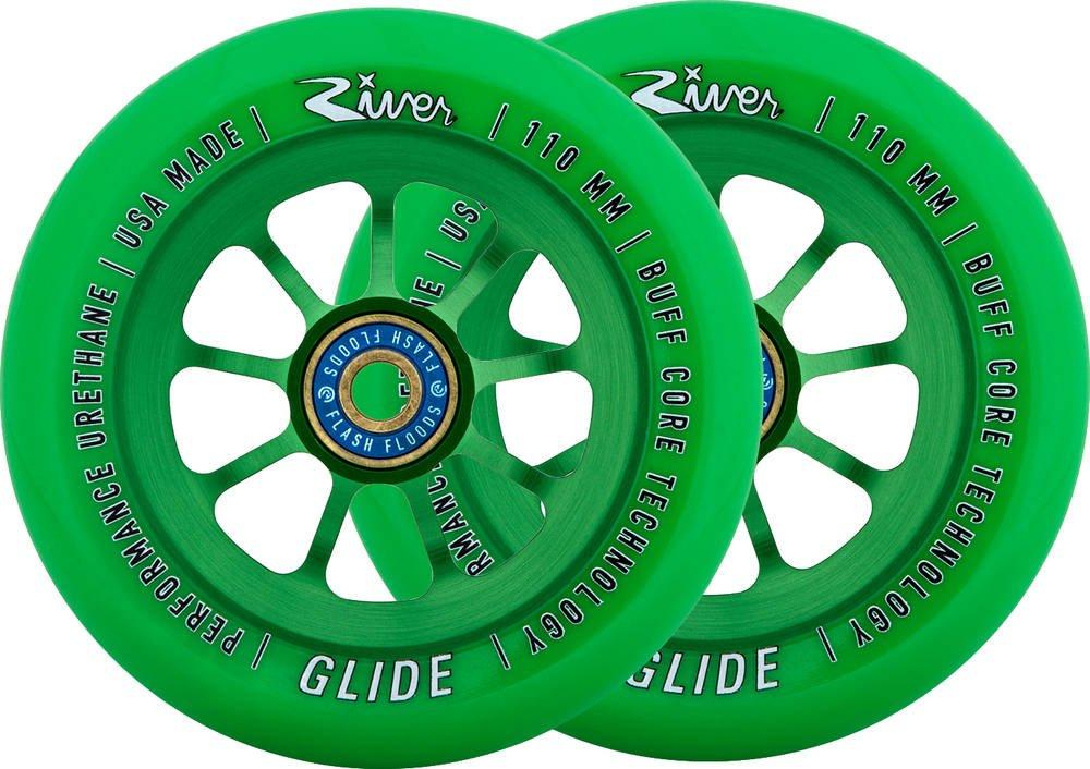 River Emerald Glide Wheels - 110mm