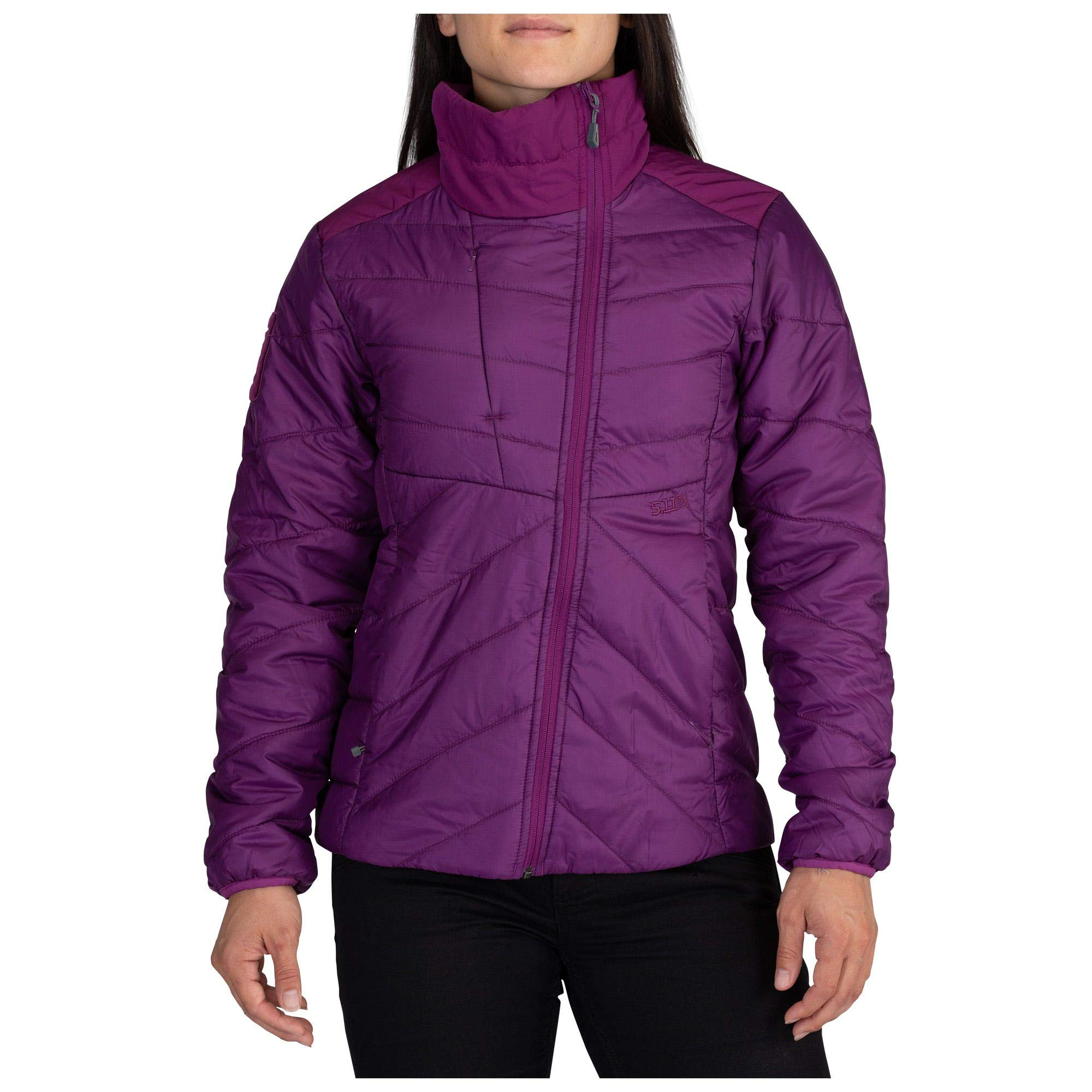5.11 Tactical Women's Peninsula Insulator Packable Jacket, Mulberry, XS, 38076 by 5.11