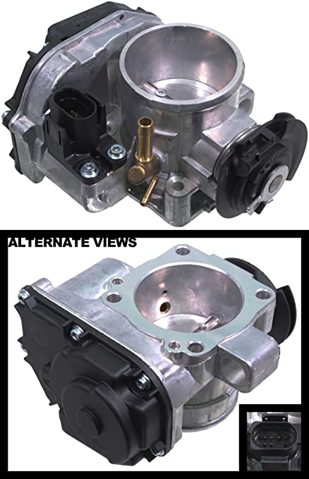 APDTY 133772 Electronic Throttle Body Assembly Fits 1996-2002 Volkswagen Cabrio 2.0L 1996-