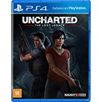 Uncharted The Lost Legacy - 1ª Edição - PlayStation 4
