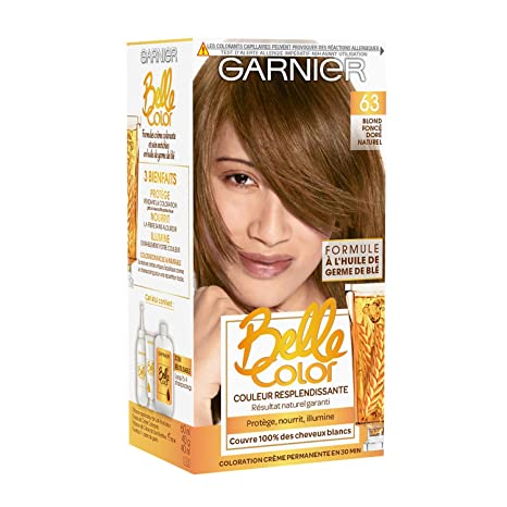 Garnier Belle Color Coloration Permanente Châtain 63 Blond