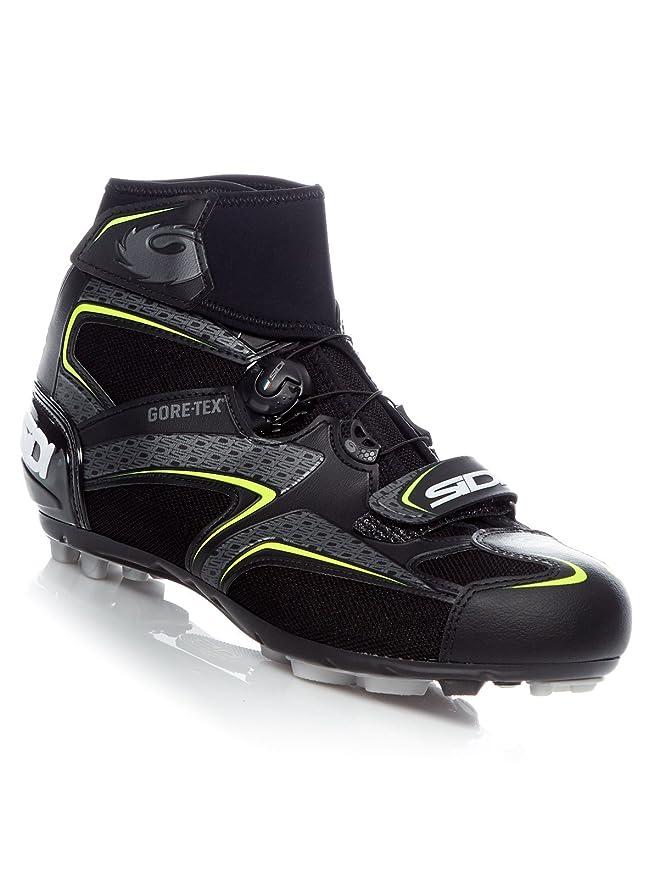Sidi Chaussure VTT Frost Gore Noir-Jaune (EU 43, Noir)  Amazon.fr  Auto et  Moto 9e12c1e1f3e0