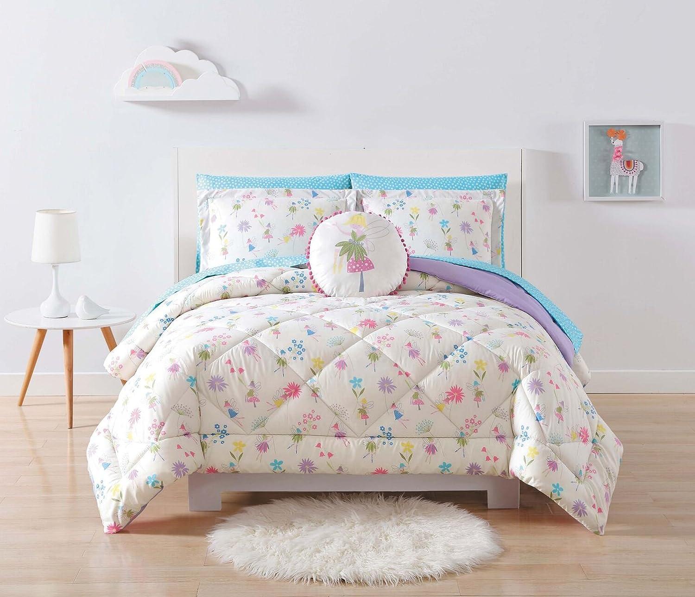 My World Comforter Set, Full/Queen, Garden Fairies