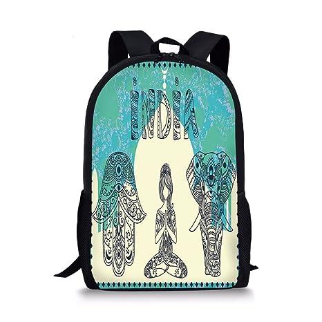67e54a19102a Amazon.com  iPrint School Bags Yoga