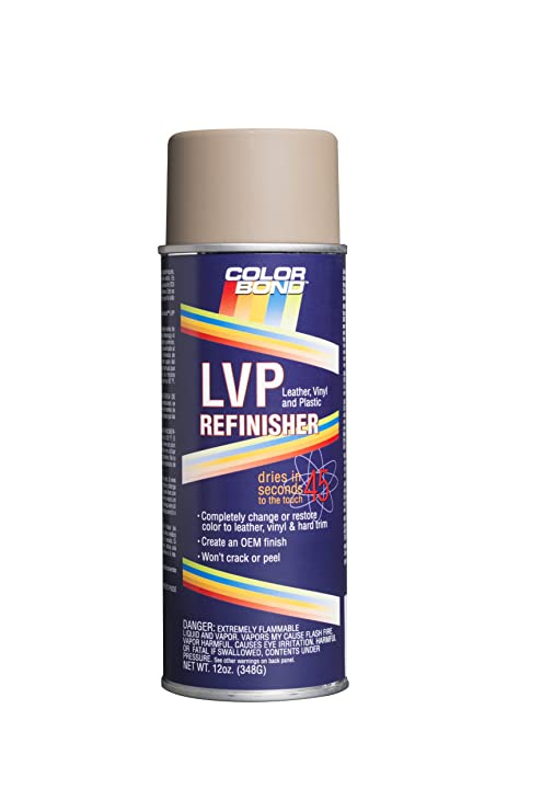 Colorbond 1870 Bmw Cream Beige Lvp Leather Vinyl Hard Plastic Refinisher Spray Paint 12 Oz