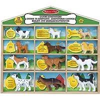 Melissa & Doug Compañeros Caninos - 12 Razas de Perros Coleccionables - Figuras para Juegos de Simulación