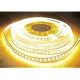AS-S - Set striscia 600 LED 5 m, tono bianco caldo, con alimentatore di rete 5 A/60 Watt