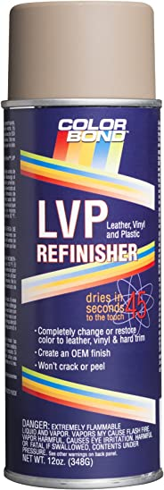 ColorBond (523) GM Very Dk Cashmere LVP Leather, Vinyl & Hard Plastic Refinisher Spray Paint - 12 oz.