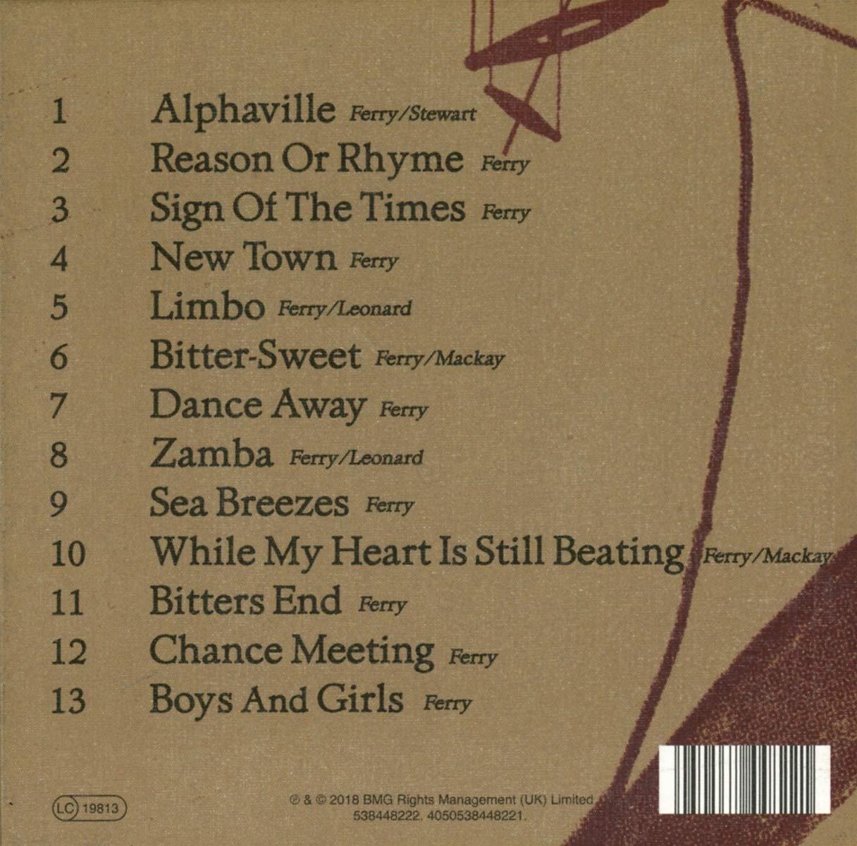 Cumplir áspero Sobretodo  Bryan Ferry - Bitter-Sweet (Deluxe) - Amazon.com Music