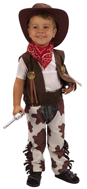 Cowboy Fancy Dress Toddler Costume Age 3 (disfraz)  Amazon.es  Juguetes y  juegos c19e7860a72