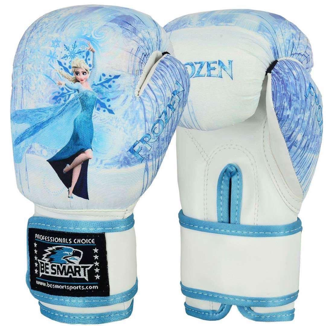 La Reine des neiges enfants Gants de gants de boxe Junior 113, 4gram 170, 1gram Sac de frappe enfant MMA Youth Be Smart
