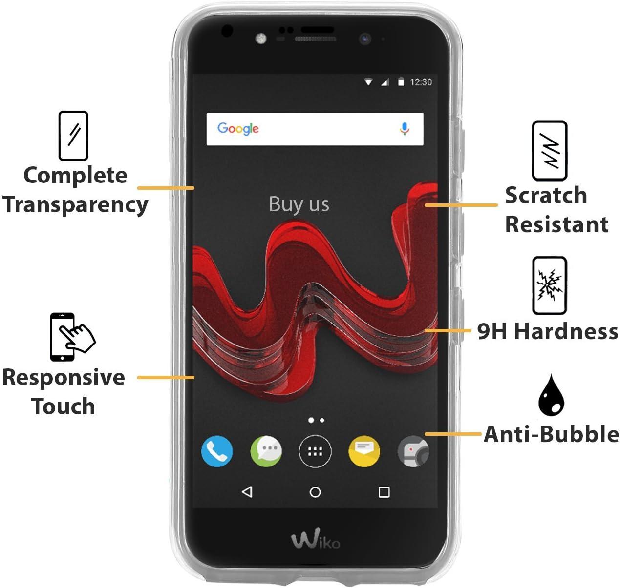 Buyus Funda Full Body Wiko Wim Lite Transparente Silicona 360 ...