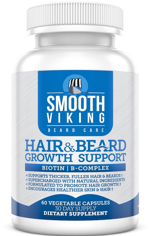 Pastillas Para Hacer Crecer La Barba - Tratamiento - 60 Capsulas