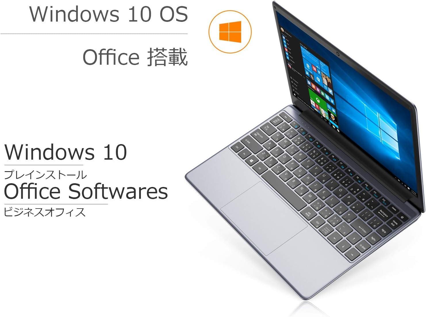 CHUWI Herobook proノートパソコン 14.1型Windows10 8GB メモリー+256GB SSD