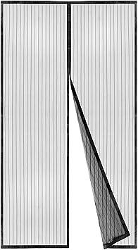 YUHEN Mosquitera Ventana Magnetica Recortable Blanco Invisible Cortina a Vela para Ventana Protecci/ón Anti Insectos y Moscas Sin Taladros,40x100cm 16x39inch