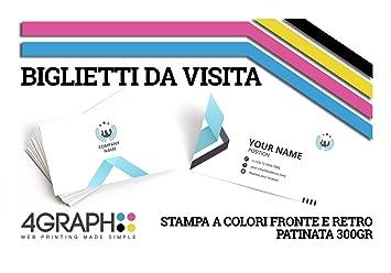 7 500 Visitenkarten Format 8 5 X 5 5 Mit Druck 4 Farben Vor