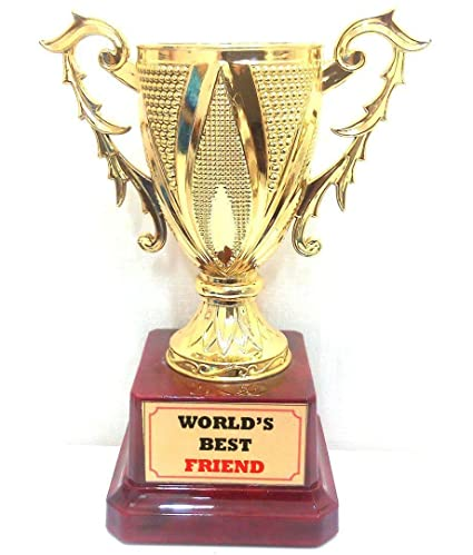 buy happy giftmart worlds best friend trophy online at low prices in