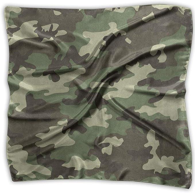 Xukmefat Bufanda cuadrada Camuflaje militar Camo Cuello Cabeza ...