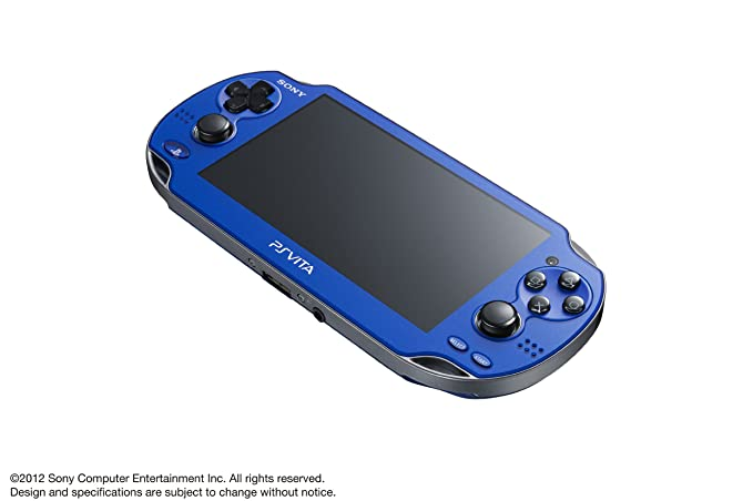 Amazon.com: Sony Playstation Vita azul zafiro 3 G/Wi-Fi PCH ...
