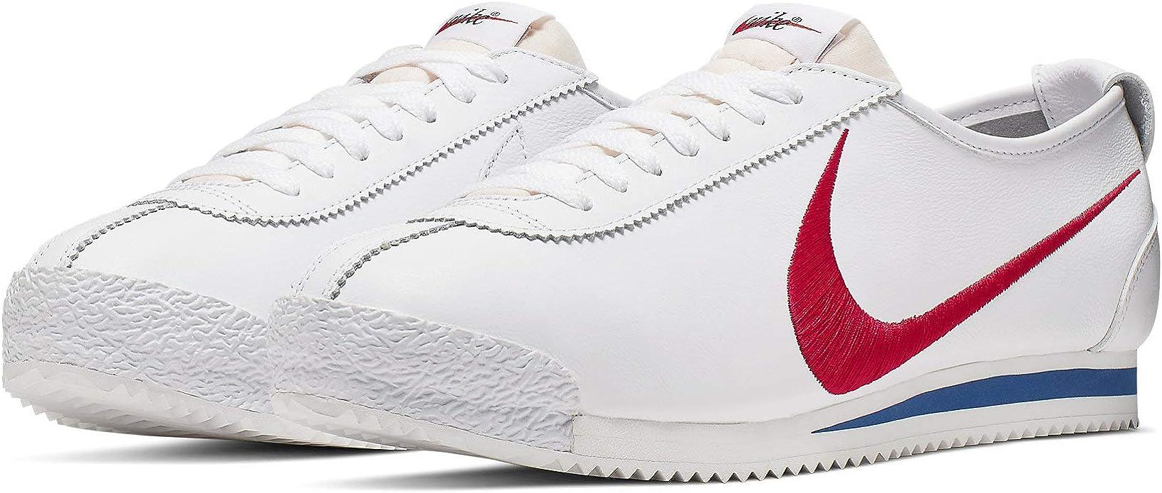 Saturar Un fiel no se dio cuenta  Amazon.com: Nike Cortez 72 S.D. (Blanco/Varsity Rojo/Game Royal 4): Shoes