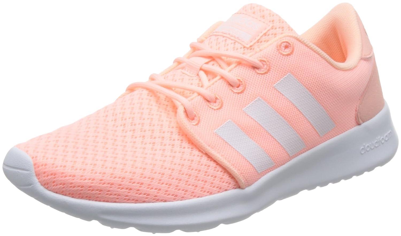 Adidas Cloudfoam Qt Racer W, Zapatilla de Deporte 38 2/3|Rosa
