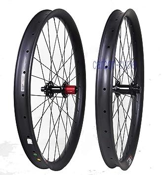 FidgetGear - Rueda de Carbono para Bicicleta de montaña (29 Pulgadas, 110 148, Incluye llanta): Amazon.es: Deportes y aire libre