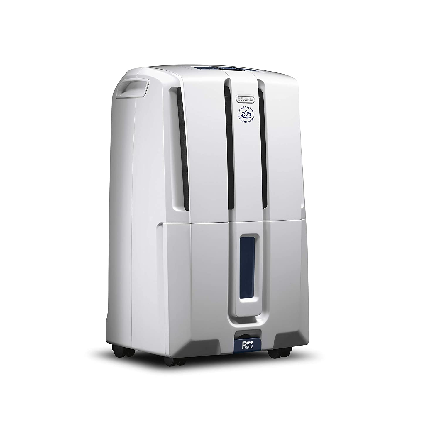 DeLonghi Energy Star 2.0 Dehumidifier, 50 Pint, White