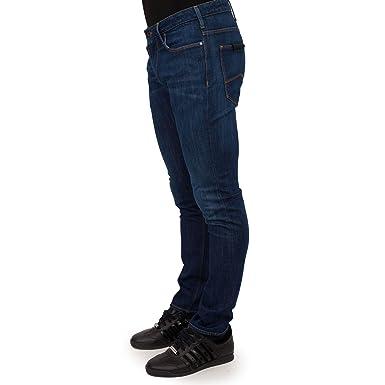 af44e975d31c Emporio Armani - Jeans - Slim - Homme Noir Noir - Noir - 44 Longue  Amazon. fr  Vêtements et accessoires