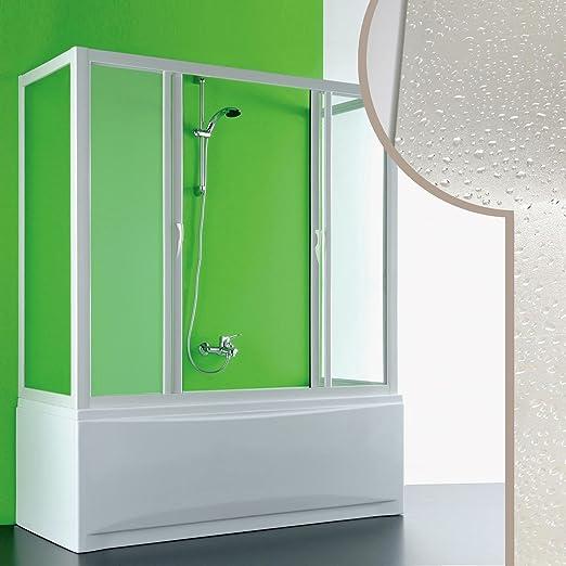Forte Mampara de bañera 3 Lados 70x170x70 CM de Acrílico Mod ...