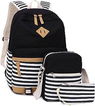 16inch Black Backpack For Kid School Backpacks for Teen Boys and Girls
