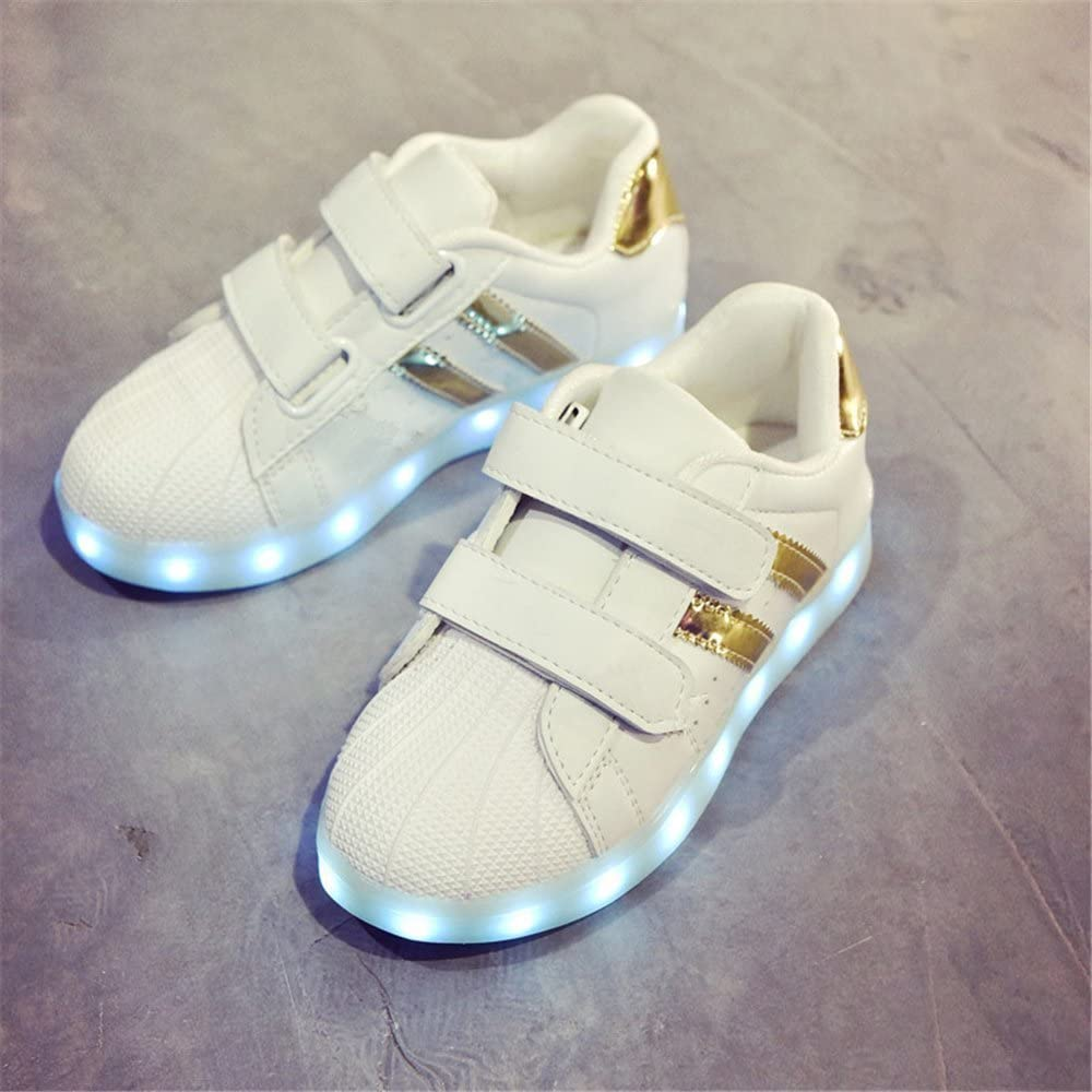 FG21ds21g LED Light Up Shoes Flashing Sneakers Causal Shoes for Kids Toddler