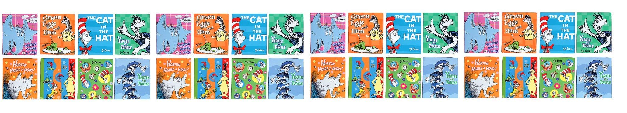 Dr Seuss Little Notebook Memo Assortment, 24 Pieces (66871) (Fоur Paсk)