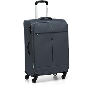 Trolley Medium 67 cm 4 Ruedas | Roncato Ironik | 415122-Antracite: Amazon.es: Equipaje